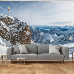 Artgeist Fototapete - Alpen - Zugspitze