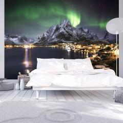 Artgeist Fototapete - Aurora borealis