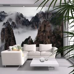 Artgeist Fototapete - Ein Meer aus Wolken, Huang Shan - China