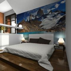Artgeist Fototapete - Mount Fitz Roy, Patagonia, Argentina