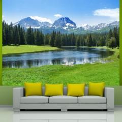 Basera® Fototapete Bergmotiv 100403-127, Vliestapete