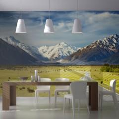Artgeist Fototapete - Southern Alps, New Zealand
