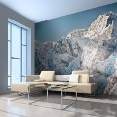 Artgeist Fototapete - Winter in den Alpen