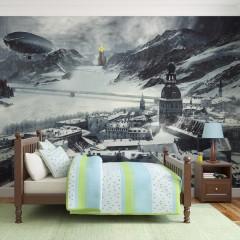 Artgeist Fototapete - Winter in Russia