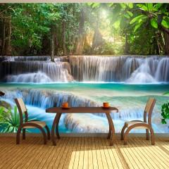 Basera® Fototapete Fluss- & Wasserfallmotiv c-A-0006-a-b, Vliestapete