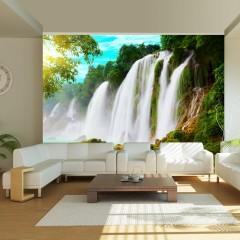 Basera® Fototapete Fluss- & Wasserfallmotiv 100403-267, Vliestapete