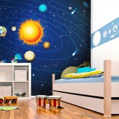 Artgeist Fototapete - Das Sonnensystem