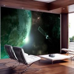 Artgeist Fototapete - Der grüne Planet