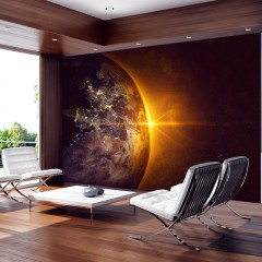 Artgeist Fototapete - Golden Earth