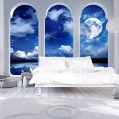 Artgeist Fototapete - Griechische Nacht