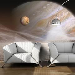 Artgeist Fototapete - Kleiner und großer Planet