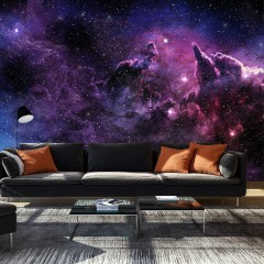 Artgeist Fototapete - Purple Nebula
