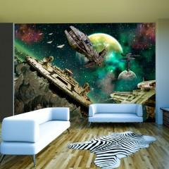 Artgeist Fototapete - Space fleet