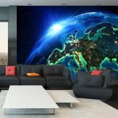 Artgeist Fototapete - The Blue Planet