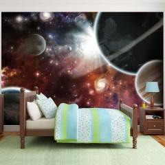 Artgeist Fototapete - Walk in Space