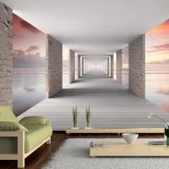 Artgeist Fototapete - Walk in the Sky