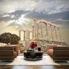 Artgeist Fototapete - Griechische Akropolis