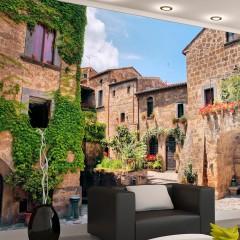 Artgeist Fototapete - Tuscan alley