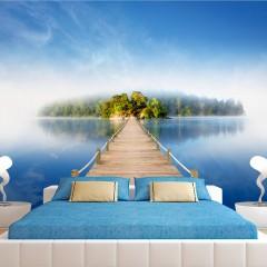 Artgeist Fototapete - Geheimnisvollen Insel