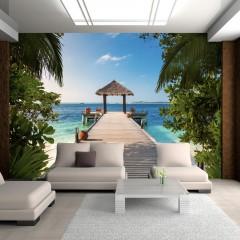 Artgeist Fototapete - Hawaiian dream