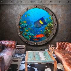 Artgeist Fototapete - Submarine Window