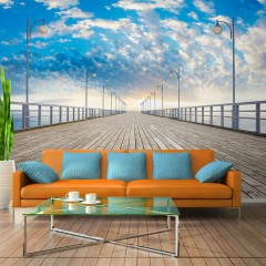 Artgeist Fototapete - The  pier