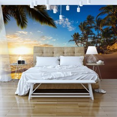 Artgeist Fototapete - Tropical Beach