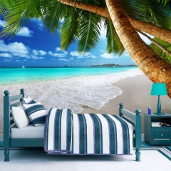 Artgeist Fototapete - Tropische Insel