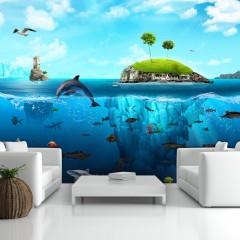 Artgeist Fototapete - Wasserwelt