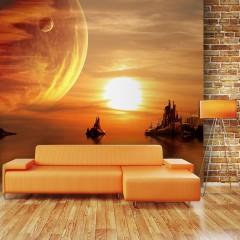 Artgeist Fototapete - Fantasy sunset