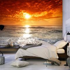 Artgeist Fototapete - Märchenhafter Sonnenuntergang