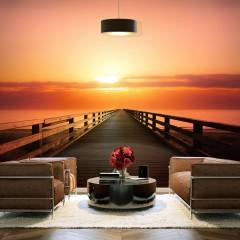 Basera® Fototapete Sonnenuntergangsmotiv c-B-0081-a-a, Vliestapete