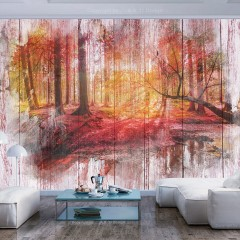 Artgeist Fototapete - Autumnal Forest