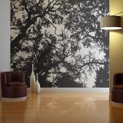 Artgeist Fototapete - Bleak forest