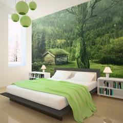 Artgeist Fototapete - Green seclusion