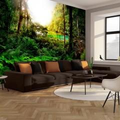 Basera® Fototapete Waldmotiv 10110903-54, Vliestapete