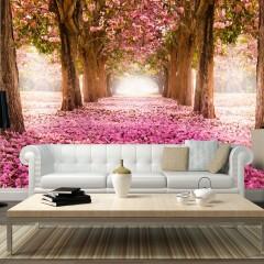 Artgeist Fototapete - Pink grove