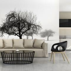 Artgeist Fototapete - Winter - Bäume
