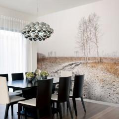 Artgeist Fototapete - Winter field