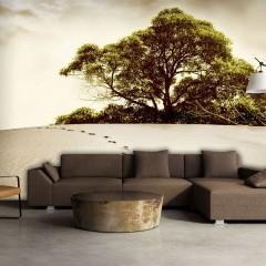 Artgeist Fototapete - Baum in der Wüste