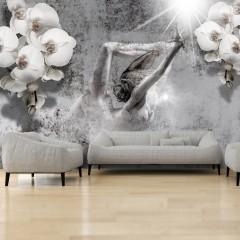 Artgeist Fototapete - Arrangement with orchid