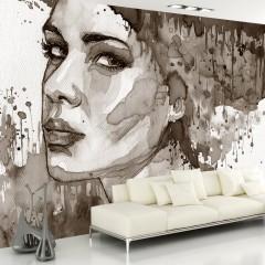 Artgeist Fototapete - Black Lady