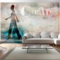 Artgeist Fototapete - Create yourself