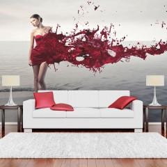 Artgeist Fototapete - Red beauty