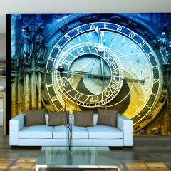 Artgeist Fototapete - Astronomische Uhr - Prag
