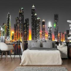 Artgeist Fototapete - Desert City (Dubai)
