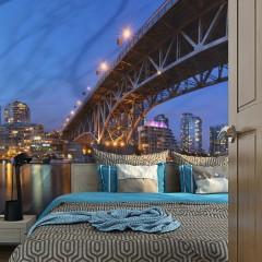 Artgeist Fototapete - Granville Bridge - Vancouver (Canada)