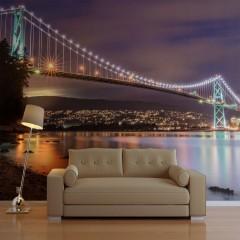 Artgeist Fototapete - Lions Gate Bridge - Vancouver (Canada)