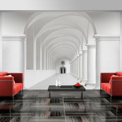 Artgeist Fototapete - Corridor of uncertainty