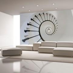 Artgeist Fototapete - Treppe (Laterne)
